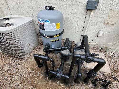 Waterway Pool Filter Installation